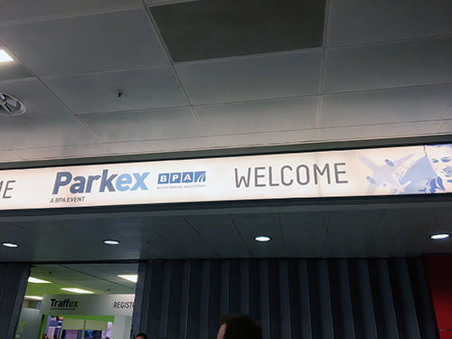 ParkCloud exhibits at Parkex 2017