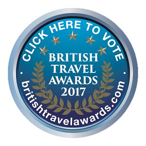 British Travel Awards 2017 - vote now!