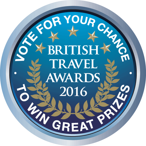 Stem op ParkCloud voor de Britisch Travel Awards 2015