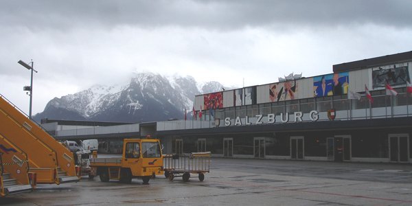 Salzburg airport parking