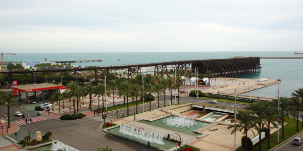 Almeria port parking